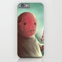 iPhone & iPod Case featuring Cuter than master Yoda by Jacques Marcotte