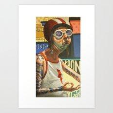VENENO Art Print