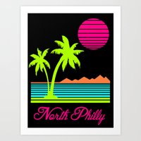 Tropical North Philly Art Print