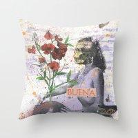Buena Throw Pillow