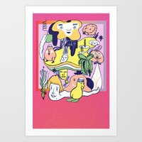 Promo Piece Art Print