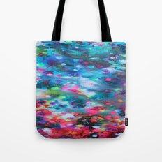 Underwater Floral  Tote Bag