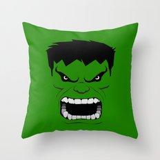 Minimalist Hulk Throw Pillow