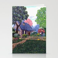 Essex House Cottage By A… Stationery Cards
