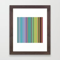 STRIPES23 Framed Art Print