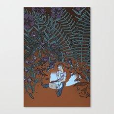 Into the Mild Canvas Print