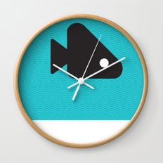 Fishie Wall Clock