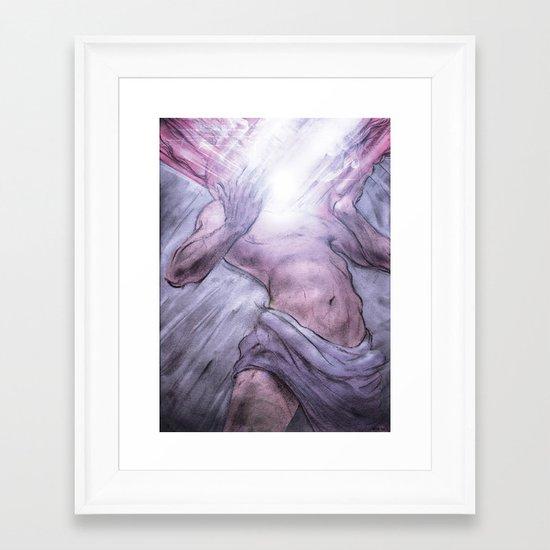 Panspermia 1 Framed Art Print