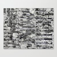 Atomic Bokeh (P/D3 Glitc… Canvas Print