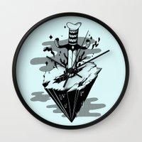 Releasing Dark Matter Wall Clock