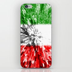 Italy Flag - Extrude iPhone & iPod Skin