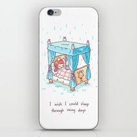 Rainy Days 2 iPhone & iPod Skin