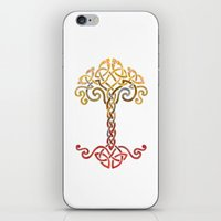 Woven Tree of Life iPhone & iPod Skin
