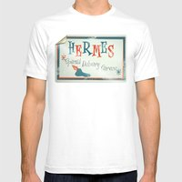 Hermes Special Delivery … Mens Fitted Tee White SMALL