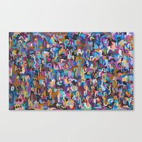 Crowd # One Canvas Print