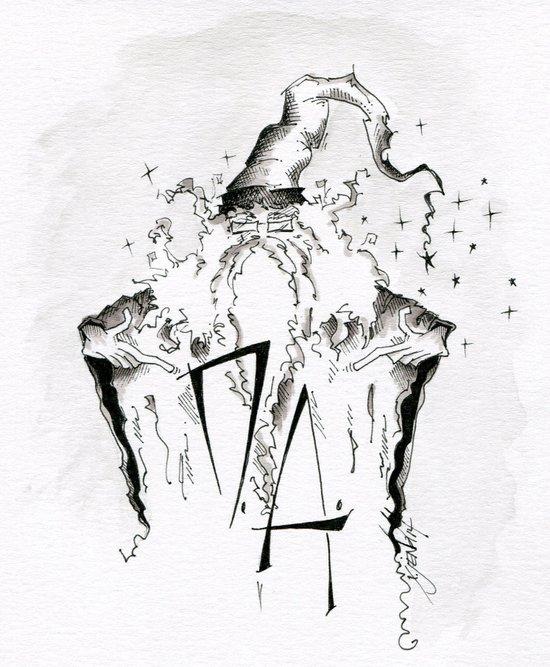 Dumbledore's Army Art Print