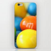 Colourful M&M's iPhone & iPod Skin