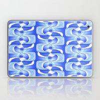 Blue & White Laptop & iPad Skin