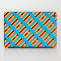 Pixel Hot Dogs iPad Case