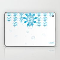 FALLING Laptop & iPad Skin