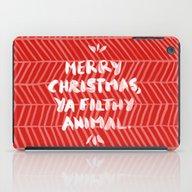 Merry Christmas, Ya Filt… iPad Case