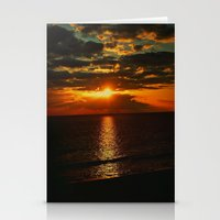 An Island Sunset Stationery Cards