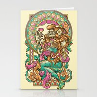 MerMadNess Stationery Cards