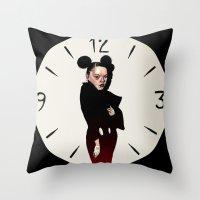 Asja Mickey Throw Pillow