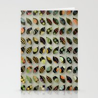 Pop Leaves Stationery Cards