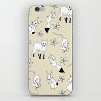 Woodland Creatures - Natural iPhone & iPod Skin