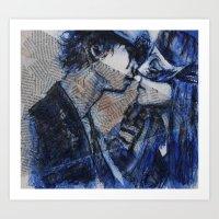 Passionate Love Art Print