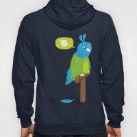 Depressed Parrot Hoody