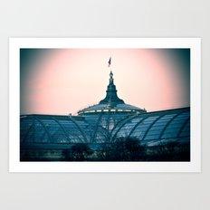 PARIS Grand Palais Art Print