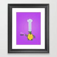 Turtle4 Framed Art Print