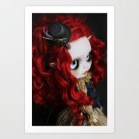 STEAMPUNK (Ooak  BLYTHE … Art Print