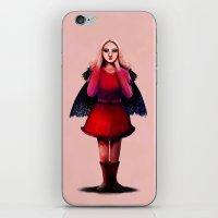 Rocket Girl iPhone & iPod Skin