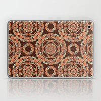 Brown Decorative Pattern Laptop & iPad Skin