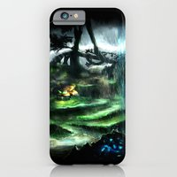 iPhone & iPod Case featuring Metroid Metal: Tallon Overworld- Where it All Begins by LightningArts