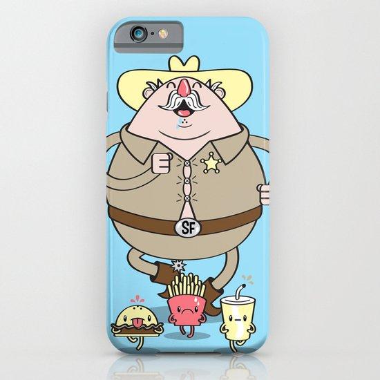 Sherif Fatman and Fast Food iPhone & iPod Case
