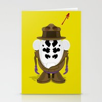Mr Potato R. Stationery Cards