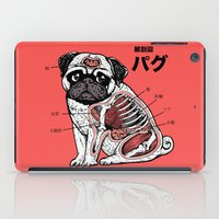 Pug Anatomy iPad Case