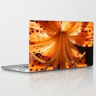 Sunlit Lily Laptop & iPad Skin