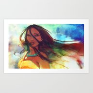 Art Print featuring The Wind... by Alice X. Zhang