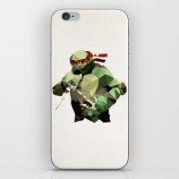 Polygon Heroes - Raphael iPhone & iPod Skin