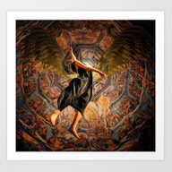 Art Print featuring When She Wanted To Stay … by OvahFx Art Without A…