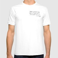 The Quote And The Photog… Mens Fitted Tee White SMALL