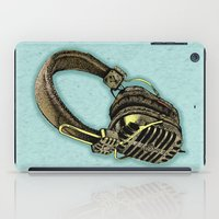HEAD PHONE iPad Case