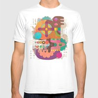 The Letter G Mens Fitted Tee White SMALL