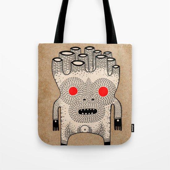 cardboard man Tote Bag