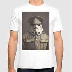 Sgt. Stormley - square format Mens Fitted Tee SMALL White